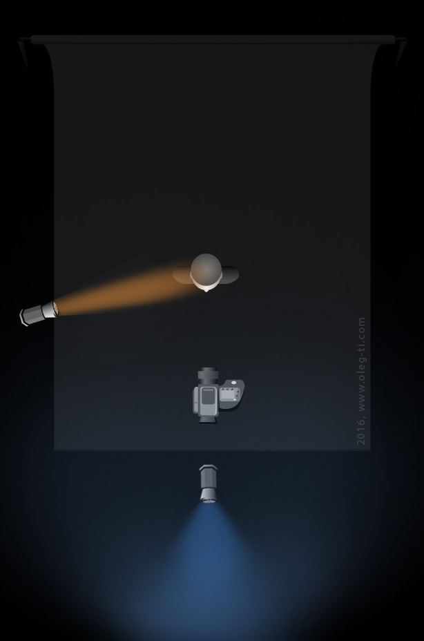 конверсионные фильтры,имитация естественных условий освещения