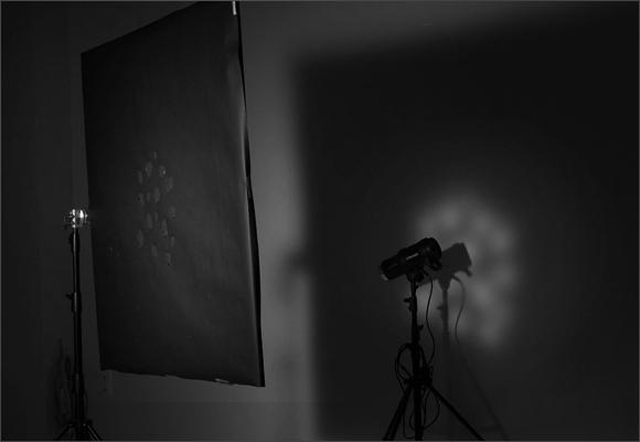 Урок по работе с маской в студии, студийное оборудование, рефлектор