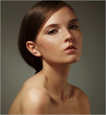 Студийный портрет жестким светом, схема, фото, студия, урок